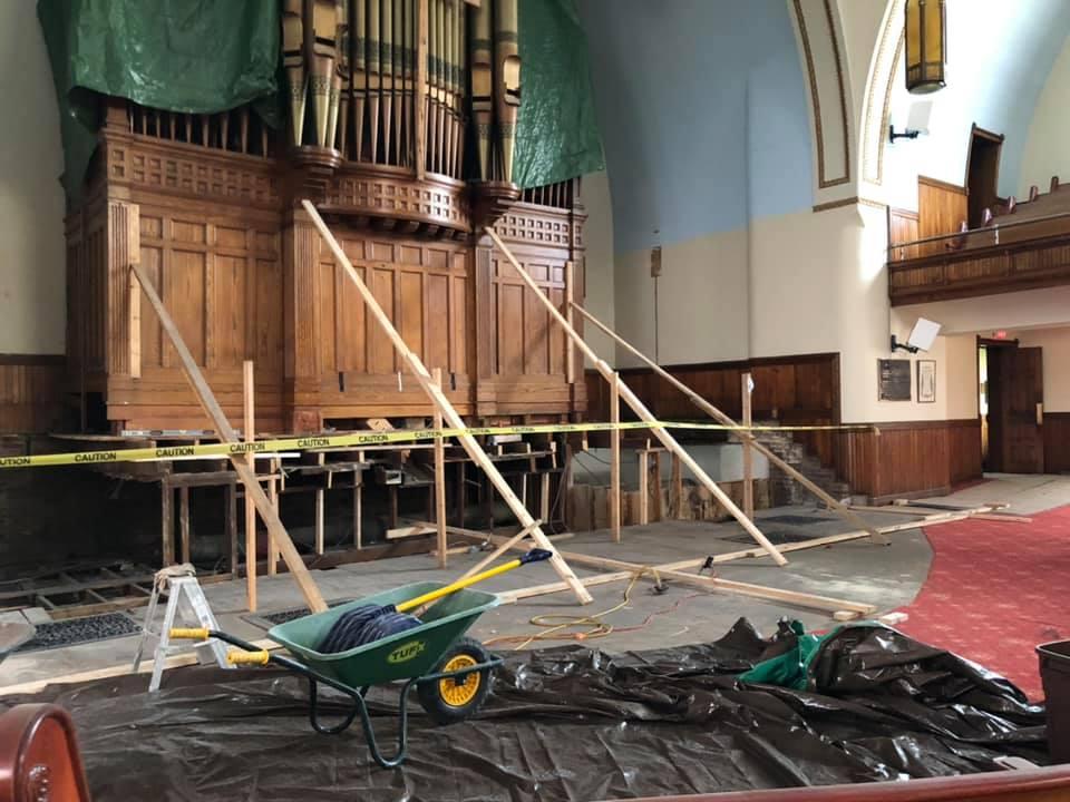 Sanctuary Renovations Have  Begun!